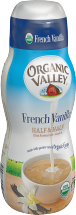 Organic Valley Organic Flavored Half & Half product image.