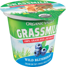 Organic Valley Organic Grassmilk Yogurt 6 oz., selected varieties product image.