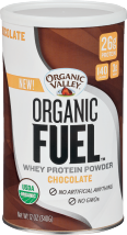 Organic Valley Organic Fuel Protein Powder 12 oz., selected varieties product image.