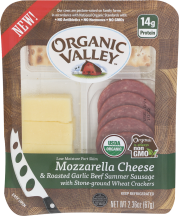Organic Valley Organic Snack Kit product image.