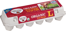 Organic Valley Organic Brown Eggs doz., Large or Extra Large, selected varieties product image.