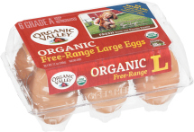 Organic Valley Organic Brown Eggs product image.