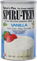 Nature's Plus Spirutein Protein Shake 1.2 lb., selected varieties product image.