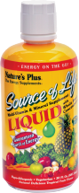 Nature's Plus Source of Life Liquid Multi-Vitamin & Mineral 30 oz., selected varieties other Source of Life products also on sale product image.
