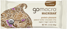 tasty, organic protein bars product image.