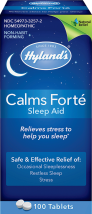 Hyland's Calms Forte Sleep Aid 100 ct., selected varieties other Hyland's products also on sale product image.