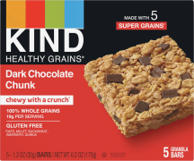 Kind Healthy Grains Bars 5 ct., selected varieties product image.