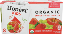 Honest Kids Organic Juice Drink product image.