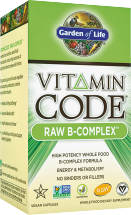 Garden Of Life Vitamin Code Raw B-Complex 60 ct. other Garden of Life products also on sale product image.