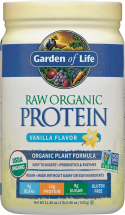 RAW Organic Protein Powder product image.