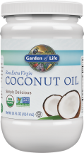 Organic Raw Extra Virgin Coconut Oil product image.