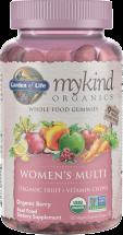 Garden Of Life mykind Organics Multi Gummies 120 ct., selected varieties product image.