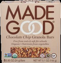 Organic Granola Bars product image.