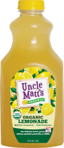 Uncle Matt's Organic Lemonade 59 oz., selected varieties product image.