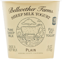 Bellwether Farms Sheep Milk Yogurt 6 oz., selected varieties product image.