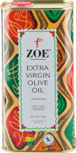 Zoe Extra Virgin Olive Oil 33.8 oz. product image.