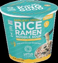 Rice Ramen Noodle Soup Cup product image.