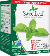 Sweetleaf Stevia Sweetener 35 ct. other Stevia products also on sale product image.