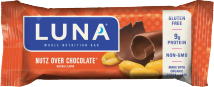 Luna Protein Bar 1.48-1.69 oz., selected varieties product image.
