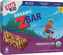 Clif Kid Organic Zbar 6 ct., selected varieties product image.