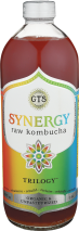 Synergy Organic Multi-Serving Kombucha 48 oz., selected varieties product image.