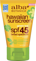 Sunscreen product image.
