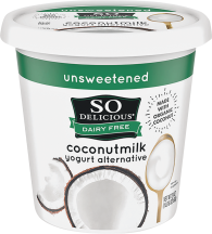So Delicious Coconut Milk Yogurt 24 oz., selected varieties product image.