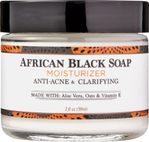 Nubian Heritage African Black Soap Facial Moisturizer 2 oz. other Nubian Heritage skin care also on sale product image.