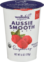 Wallaby Organic Low Fat Yogurt product image.