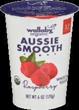 Wallaby Organic Low Fat Yogurt product image.