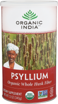 Organic Whole Psyllium Husk product image.