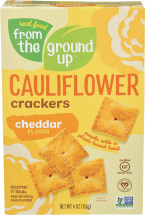 From The Ground Up Cauliflower Crackers 4 oz., selected varieties product image.