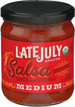 Late July Snacks Organic Chips and Salsa product image.