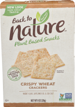 Back To Nature Crackers 3.5-8.5 oz., selected varieties product image.