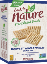 Back To Nature Crackers product image.
