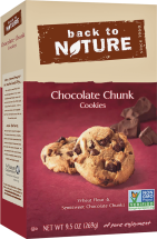 Back To Nature Cookies 8-9.6 oz., selected varieties product image.