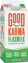 Good Karma Flaxmilk 64 oz., selected varieties product image.