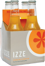 Izze Sparkling Juice Beverage 4 pack, selected varieties product image.