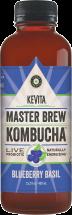 Kevita Organic Blueberry Basil and Roots Beer Kombucha 15.2 oz., selected varieties product image.