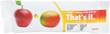 That's It Fruit Bar 1.2 oz., selected varieties product image.