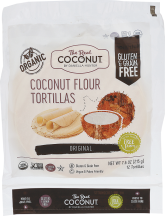 Organic Coconut Flour Tortillas product image.
