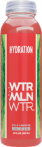 Wtrmln Wtr Cold Pressed Watermelon Juice 12 oz., selected varieties product image.