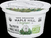 Organic Greek Yogurt product image.