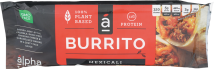 Alpha Foods Burrito product image.