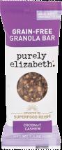 Purely Elizabeth Granola-Free Bar 1.4 oz., selected varieties product image.