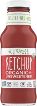 Primal Kitchen Organic Unsweetened Ketchup product image.