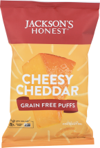 Jackson's Honest Grain Free Puffs product image.