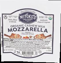 Organic Vegan Mozzarella product image.
