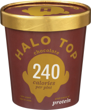 Halo Top Creamery Ice Cream 1 pint, selected varieties product image.