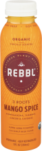 Rebbl Organic Mango Spice Elixir 12 oz., selected varieties other REBBL products also on sale product image.